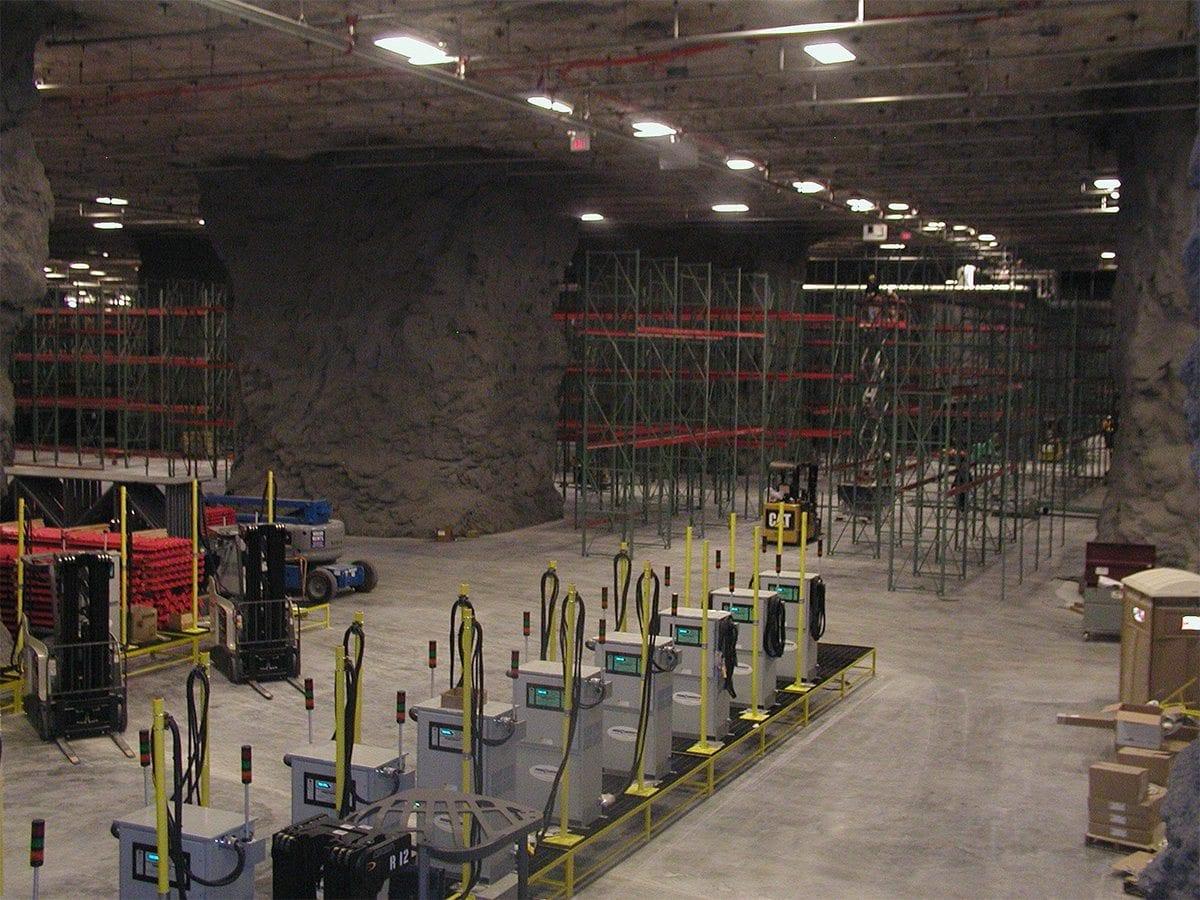 Springfield Underground: Warehouses No. 8, 10, 12, 15, 16, 25