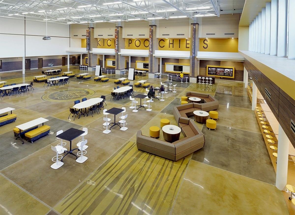 Kickapoo High School Student Center Springfield Missouri