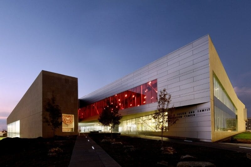 2012 - LEED Missouri State University Foster Family Recreation Center