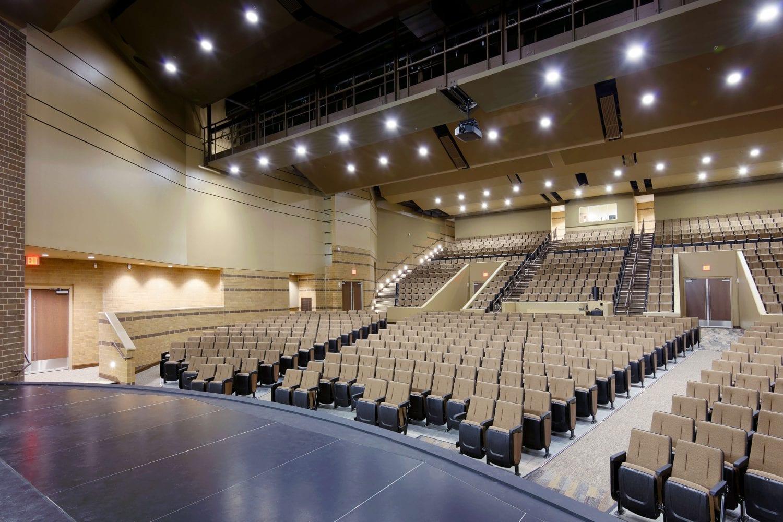 Kickapoo High School Performing Arts Center/FEMA Safe Room