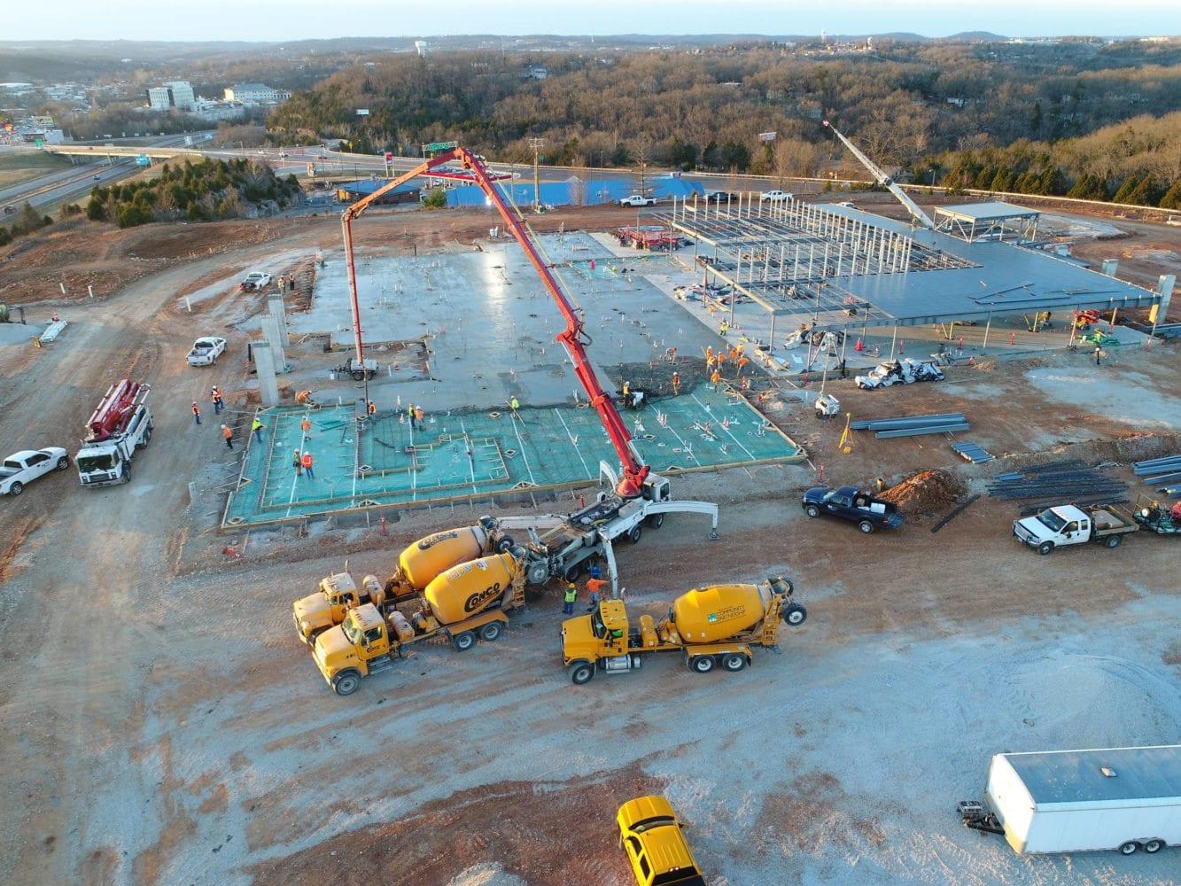 mercy-branson-clinic-dewitt-concrete-slab-pour-aerial