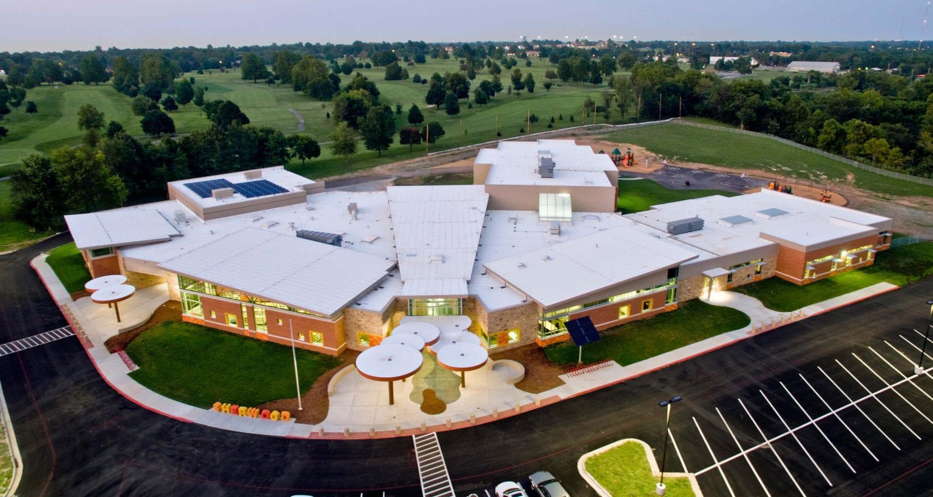 Sherwood Elementary Aerial