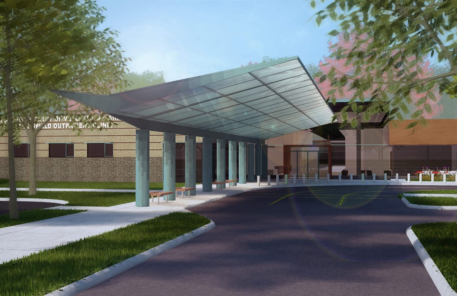 Veterans-Affairs-Outpatient-Clinic-Springfield-Canopy