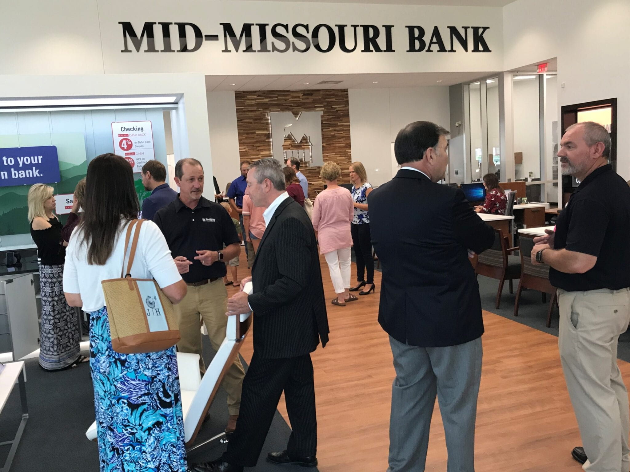 mid missouri bank mount vernon grand opening