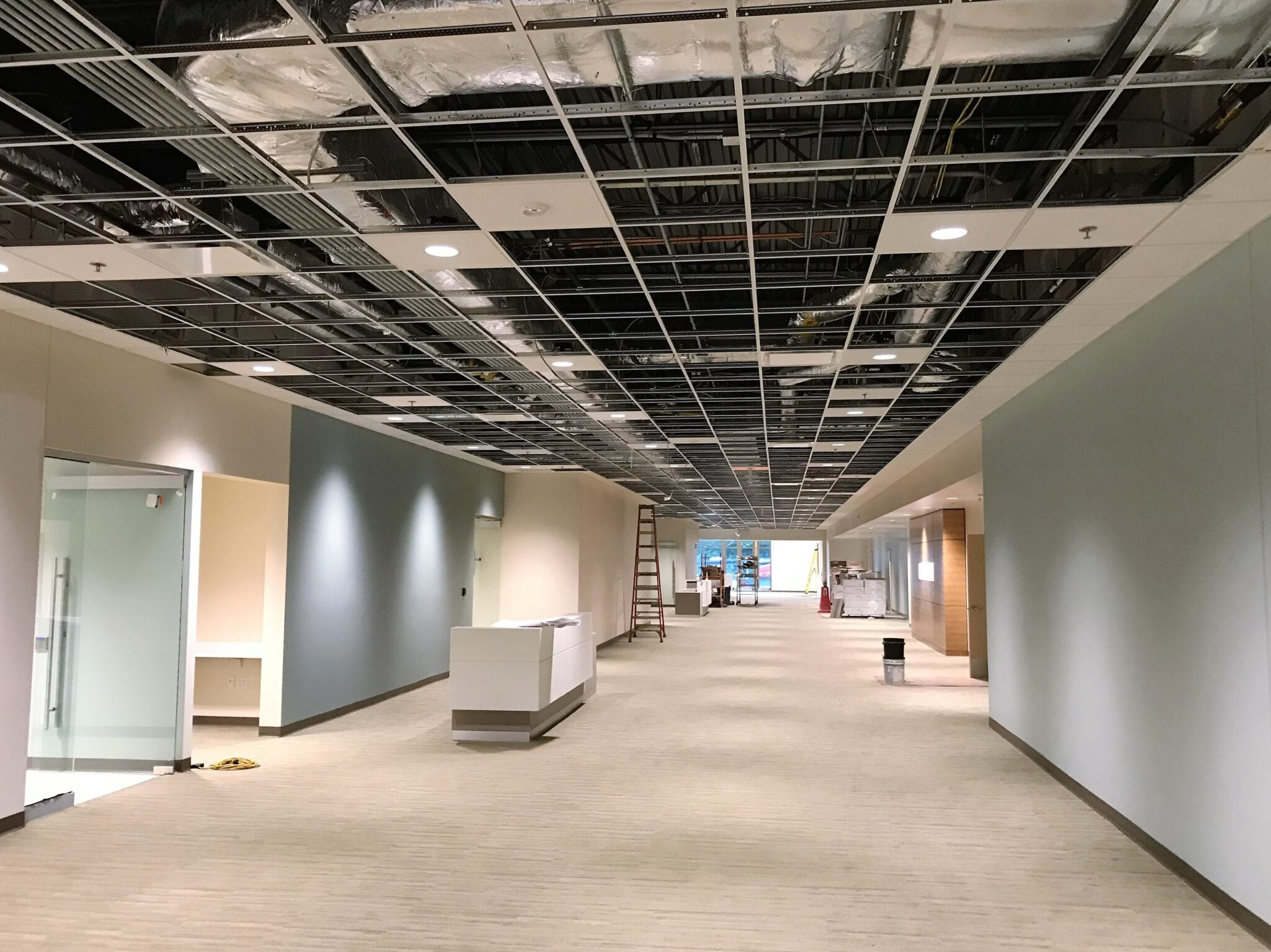 mercy branson clinic interior ceiling