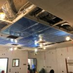 mercy hospital operating room #10 ceiling renovation