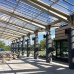 va clinic entryway canopy